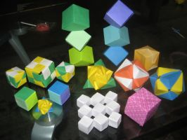 Origami Cubed by musicmixer112