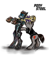 Pony Steel by dzetaWMDunion