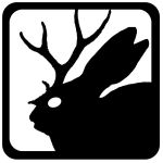 Jackalope Icon by ErwinTheSketcher