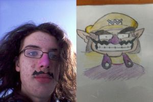 They Have Face Paints And My Art Teacher Drew Me by DaMario101Sonic