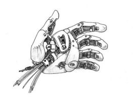 Robotic hand by stampede