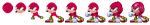 Knuckles Sprite Stages by Destro-the-Dragon