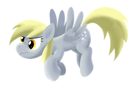 Angry Derpy by nekokevin