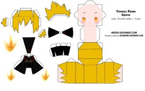 PaperCraft KHR -Giotto- by Aresky