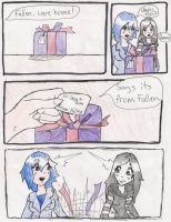 Gift Wrapped pg 1 by FallenWolfSpirit999