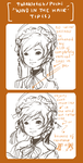 Wind in hair tutorial by Pochi-mochi