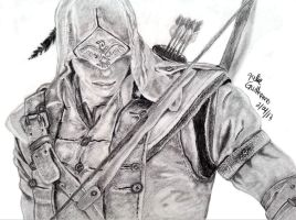 Connor Kenway (assassin creed 3) by julie212