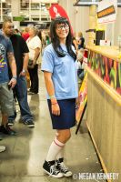 SLCC '14: Tina Belcher by abuseofreason