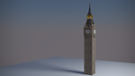 Big Ben 3D Model by logander4