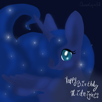 -Gift- The Princess of Night welcomes you by Queenlugia
