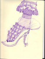 another shoe by Vanessa-Maria