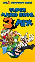 Super Mario Bros. 3Mix label by wheretheresawil