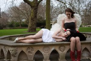 Lesbian Angels stock 47 by Random-Acts-Stock