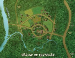 Map of Brynvale by Radioactive-Insanity