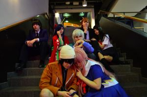Before the game... (mirai nikki cosplay) by tutti-chan