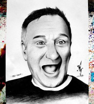 Robin Williams by KgTheOctopus
