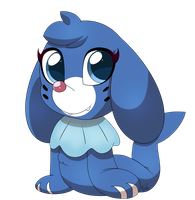 Popplio by Cookie-Kit