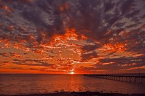 Ceduna Sunset by HeartsOfStone