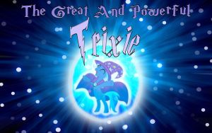 The Great And Powerful Trixie Wallpaper by Macgrubor