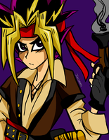Commission: Pirate Atem by Juledrops