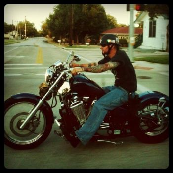 Motorcycle Daddy by taraxxmichelle