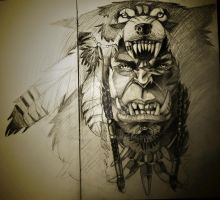 Durotan in all of his glory by mojo123s