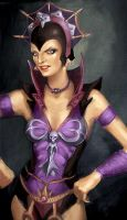 Evil-Lyn by adamosgood