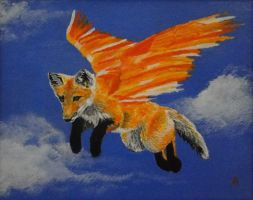 Flying Fox by aprilr3435