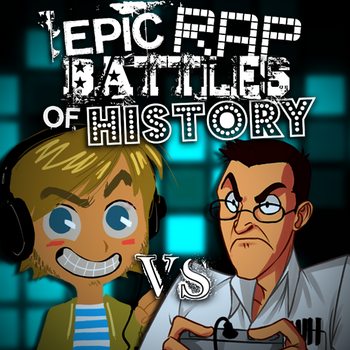 ERB Idea: Pewdiepie vs Angry Video Game Nerd by Stofferex