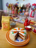 Miniature carrot cake by LittlestSweetShop