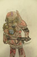 Rust Warrior by rootsauce