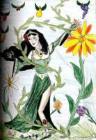 Irene--Princess of Plants by Captain-Chaotica