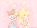 .~We're made of stars~. by ThePinkMarioPrincess