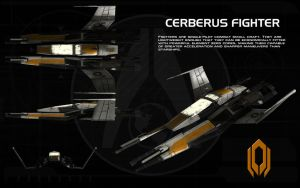 Cerberus Fighter ortho by unusualsuspex