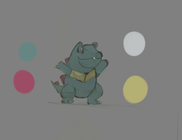 totodile by Luigib07