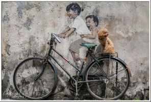 Bicycle Ride by PoodleSchmoodle