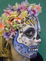 Sugar Skull by planetdebs