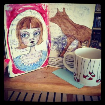 Moleskine + Coffee by howtouseart