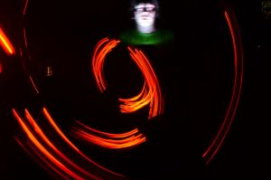 Light painting by murkin