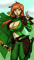 Waifuu Windrunner by Revthe13th
