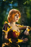 Lina Cosplay by yarpenna