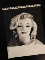 marilyn monroe by jaimel909