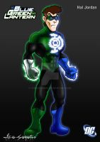DCU - BlueGreen Lantern - Hal by TheoSar