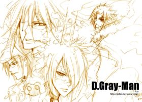 D.Gray-Man :: 140808 by zefiar