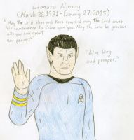 Tribute - Leonard Nimoy by Jose-Ramiro