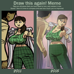 Draw this again by lightfootcomics