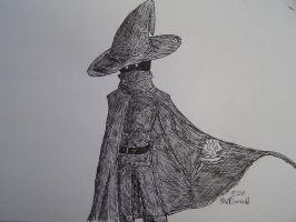 Black Ink Mage by Jakesword