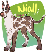 x_. Niall the Great Dane by srspibble