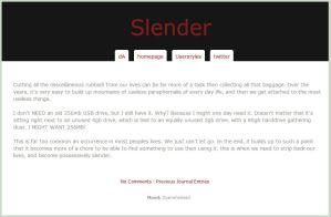 Slender by trezoid