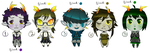 Fantroll Adopts [OPEN] by bunny500